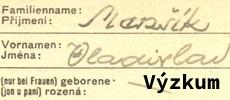 Oosbní archiv Vladimíra Brabce